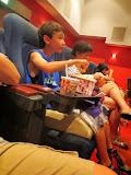 Eidan, all set to watch a movie at the Toho cinema in Fukuoka