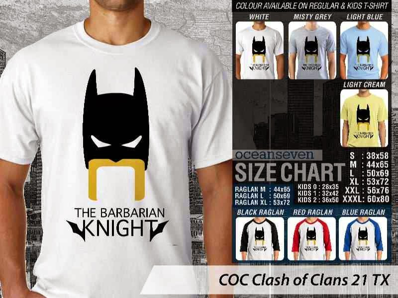 Kaos COC Clash of Clans 21 distro ocean seven