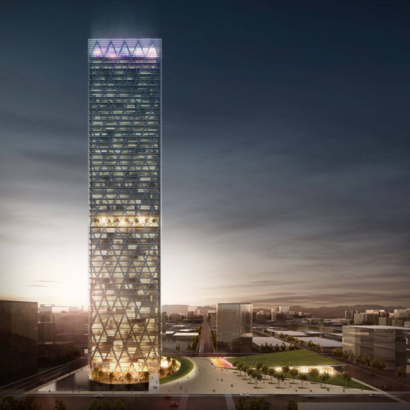 Midland, Texas, Stati Uniti: Energy Tower by Edmonds International