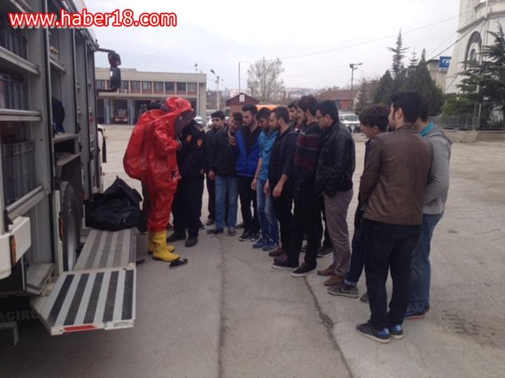 Çankırı Karatekin Üniversitesi Arama Kurtarma Topluluğu, bir günl