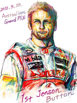 Дженсон Баттон - победитель Гран-при Австралии 2012