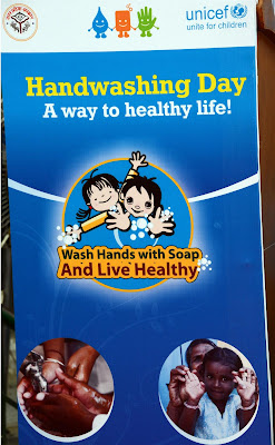 Фернандо Алонсо UNICEF Handwashing Day на Гран-при Индии 2012