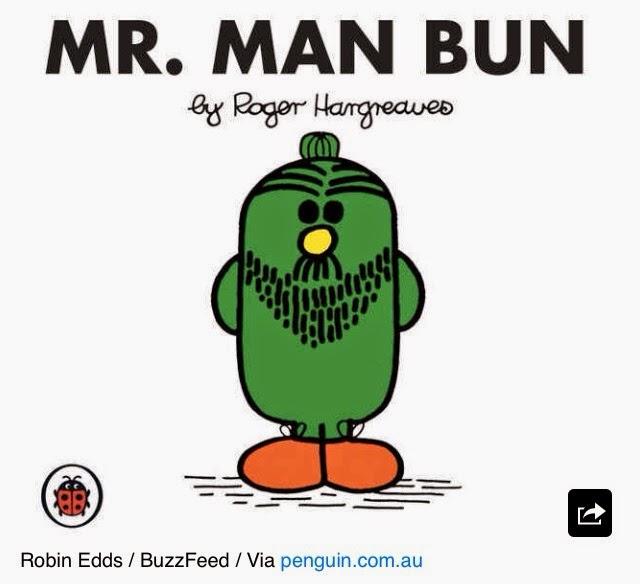 Image result for mr man bun