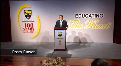 Prem Rawat Maharaji en University Of Malaya, Kuala Lumpur
