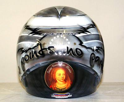 шлем Пастора Мальдонадо для Гран-при Монако 2013