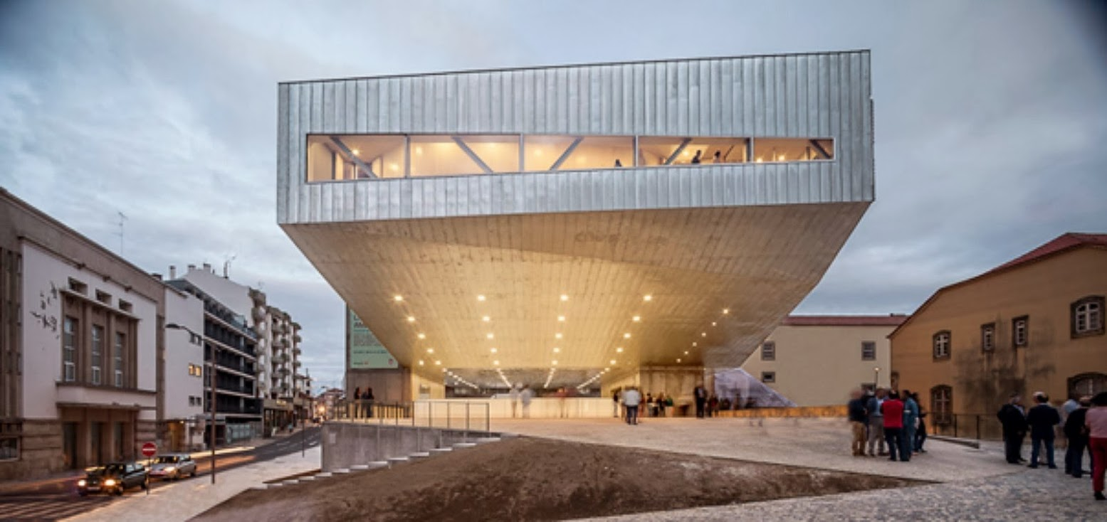 Cultural Center in Castelo Branco by Mateo arquitectura