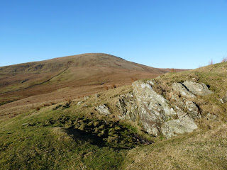 Whitfell from Bigert (not a very exciting fell top).