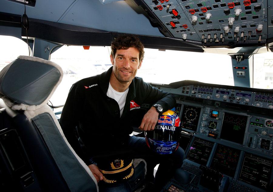 Марк Уэббер объявил об обучении на пилота