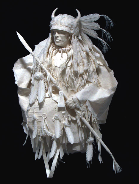 Sculptures of Native American scenes Seen On www.coolpicturegallery.us