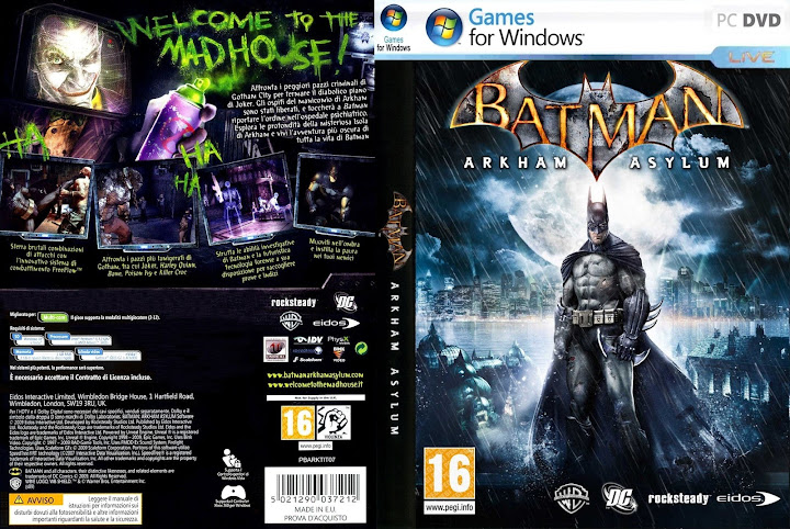 Batman Arkham Asylum - Full Version Free Games Download for PC
