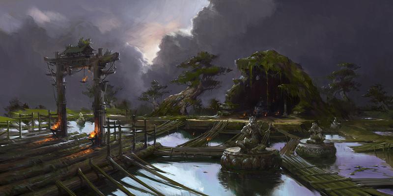 Loạt concept art khá đẹp mắt của Đấu Chiến Thần - Ảnh 3