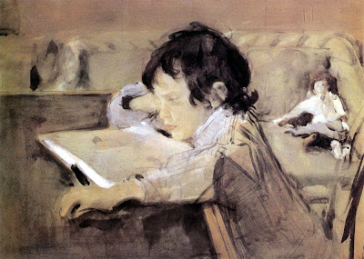 Valentin Serov - Portrait of Alexander Serov. 1897