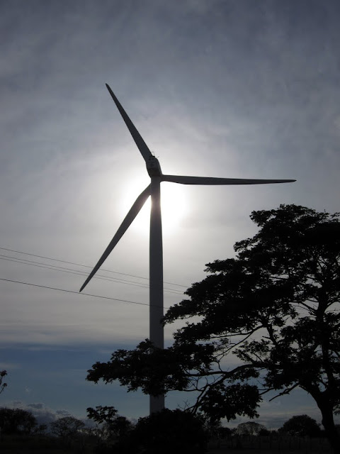 Wind power in southern Nicaragua