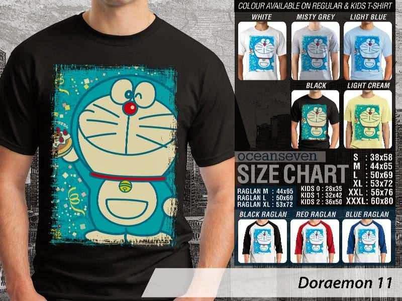 KAOS Doraemon 11 Manga Lucu distro ocean seven