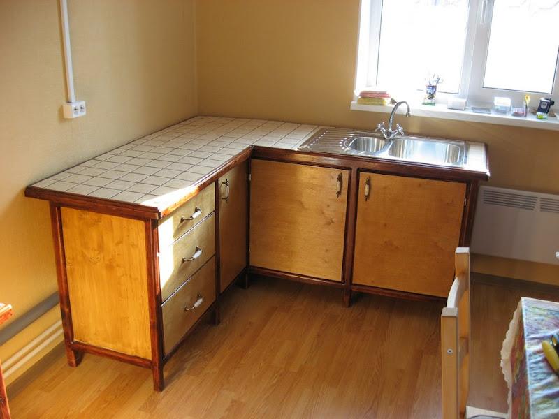 Как самому сделать кухонную мебель для дачи