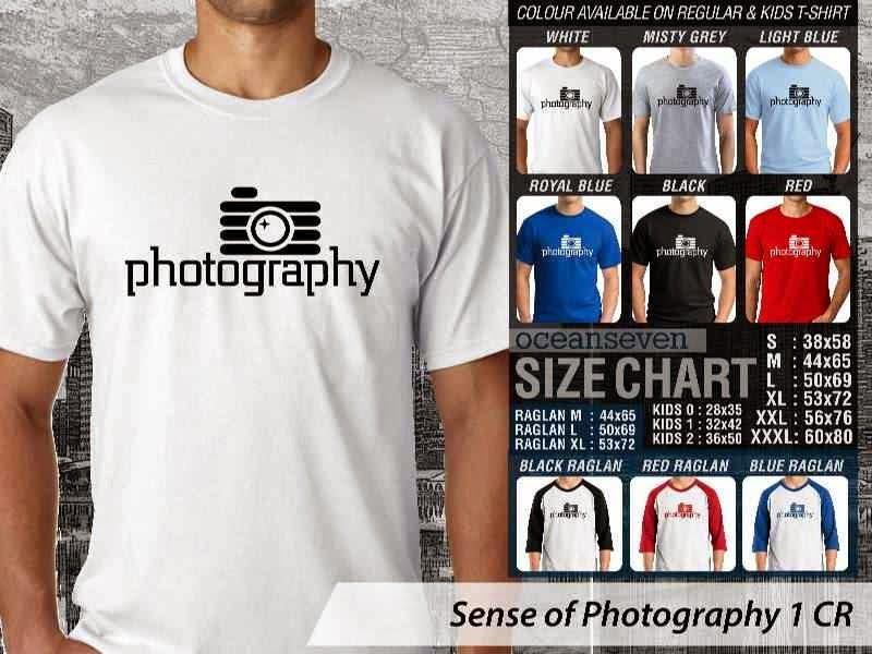 Kaos kamera Sense of Photography 1 Photography distro ocean seven