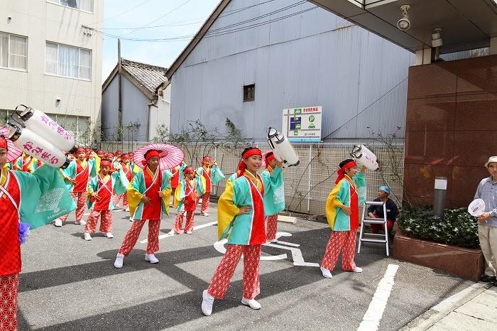 第61回よさこい祭り☆本祭2日目・川村病院2☆上2目0656
