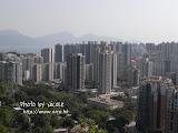 高樓大廈盡收眼底。以前甚少機會拍到這種照片,好開心!