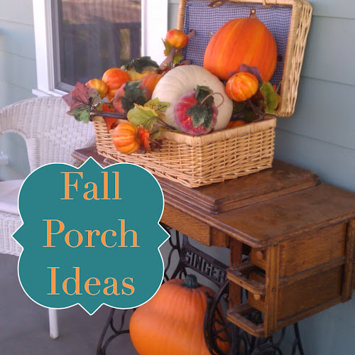 Fall porch ideas, thestylesisters