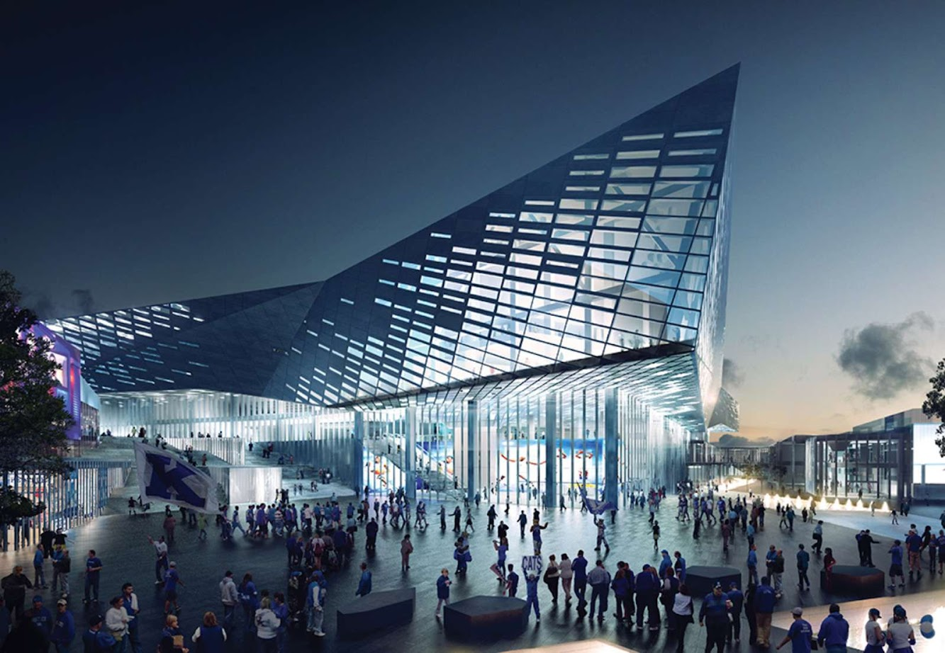 Lexington, Kentucky, Stati Uniti: Rupp Arena Reinvention by Nbbj