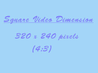 best video upload dimension