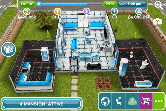 Cose da gamer the sims free play shuttle fantascientifico for Case the sims 3 arredate