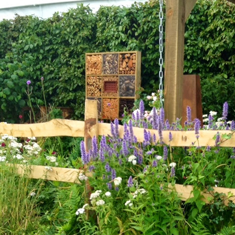 RHS Hampton Court Flower Show 2014 - Bee Hotel - Photo by Noemi Mercurelli