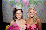 Miss Tori Mathew 2014 Azalea Princess with 2013 Azalea Princess Paxton Webster