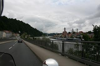 Pogled na rijeku Inn