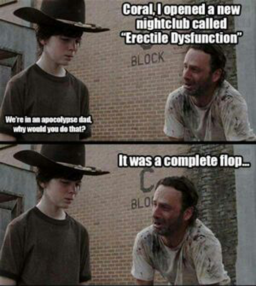 Old bad jokes + TWD