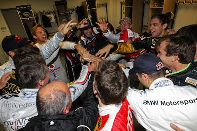 пилоты перед Гонкой чемпионов 2011