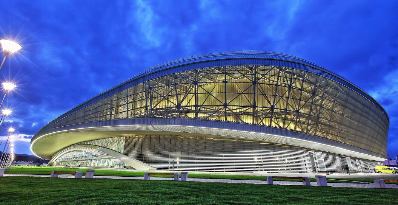Sochi 2014 Olympics Architecture Adler Arena