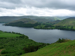 Ullswater and Hallin Fell.
