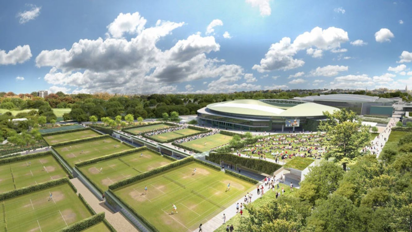 Wimbledon Master Plan by Grimshaw Architects