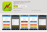 Speed VPN - Free Android VPN Apps To Surf Anonymously