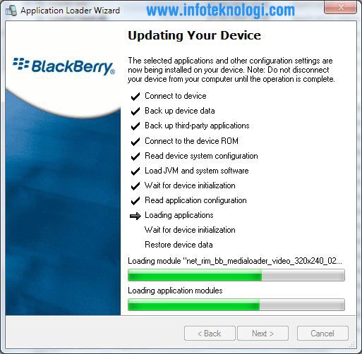 Tutorial Update Blackberry OS 6 Dan OS 7