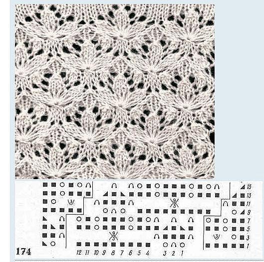 0817_Схема_узора - 17 Мая 2011 - Копилка узоров