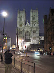 Westminster Abbey - and Jeff taking...