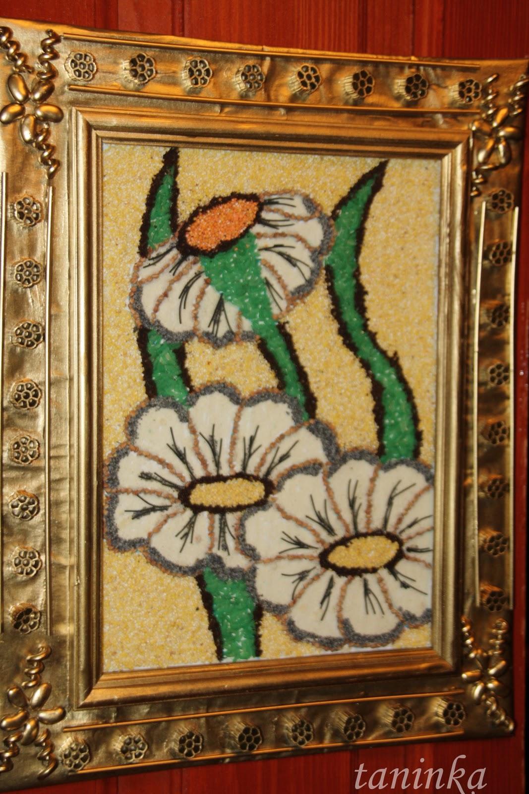 Картины из макаронных изделий своими руками картинки