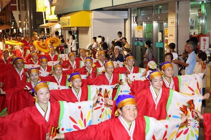 第60回よさこい祭り☆本祭2日目・上町競演場32☆上2目2776