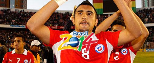 Chile vs. Bolivia en Vivo - Eliminatorias Brasil 2014