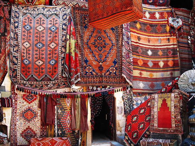 Турция: рукодельные ковры