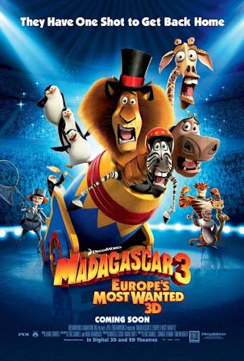 Madagasca 3: Thần Tượng Châu Âu (2012)