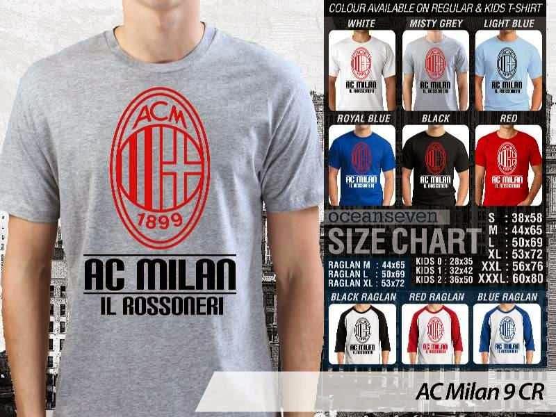 KAOS AC Milan 9 Lega Calcio distro ocean seven