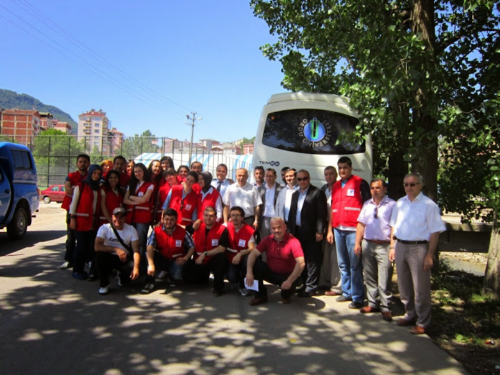 Ordu Üniversitesi Kızılay Kulübü Öğrenciler İlçemiz Okullarını Ziyaret Etti