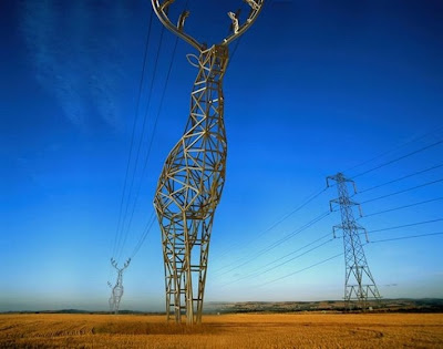 Deer-Shaped Electrical Towers in Russia Seen On www.coolpicturegallery.us