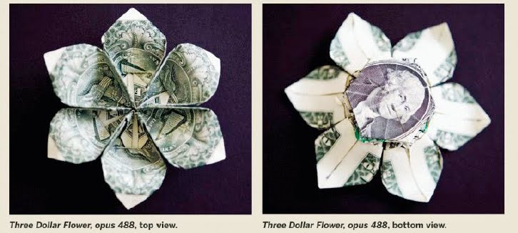 Origami Dollar Flower 292101 Airhumidifierfo