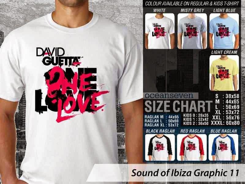 KAOS Musik Ibiza 11 David Guetta One Love distro ocean seven