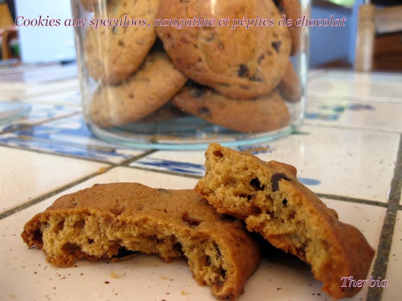Cookies aux speculoos nougatine et p pites de chocolat - Tf1 cuisine laurent mariotte moelleux aux pommes ...