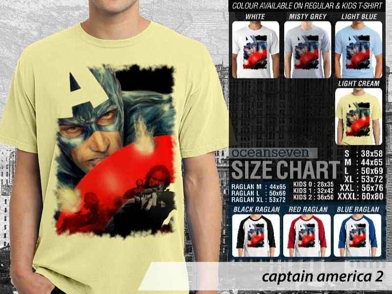 Jual Kaos Captain America 3 Amazing Superhero